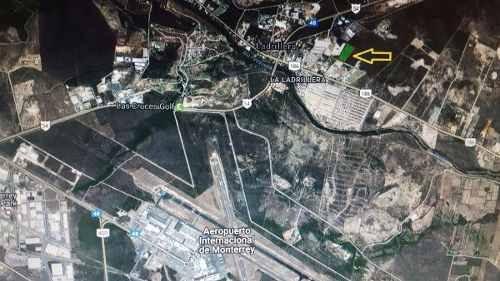 terreno industrial 3.4 hectareas en pesqueria nuevo leon