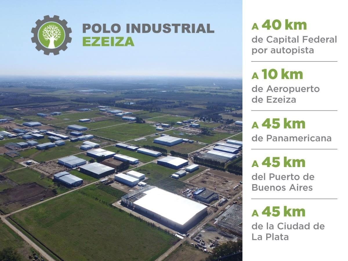 terreno industrial 6.500 m2 - polo industrial ezeiza
