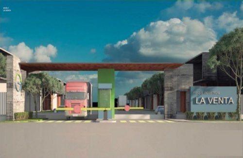 terreno industrial 825.76 m2 dentro de parque