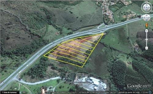 terreno industrial a venda em bragança paulista, rodovia fer