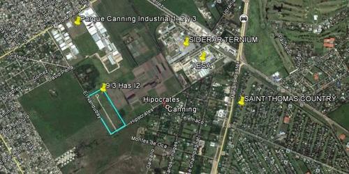 terreno industrial apto desarrollo