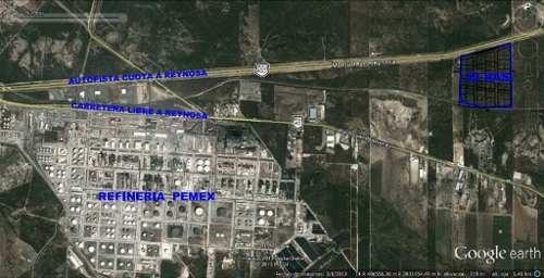 terreno industrial cadereyta - pemex - la fragua