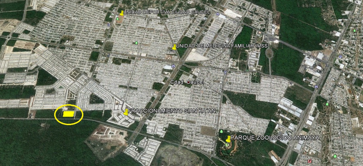 terreno industrial-comercial en venta en caucel, mérida yucatán