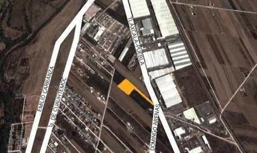 terreno industrial en agrícola ignacio zaragoza, carretera f