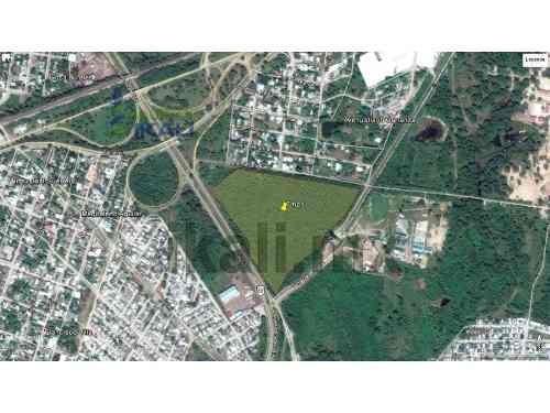 terreno industrial en renta  altamira tamaulipas 7 has, se encuentran ubicadas en la colonia nuevo distrito de crecimiento en la calle fracc sector 5, colinda con la autopista 80 y dos calles más, so