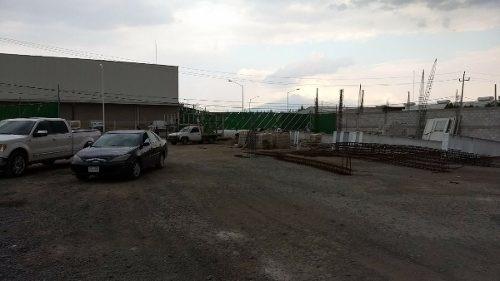 terreno industrial en renta cerca de vw