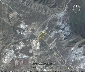 terreno industrial en santa catarina 10.35 has