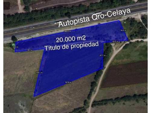 terreno industrial en venta carretera celaya cuota
