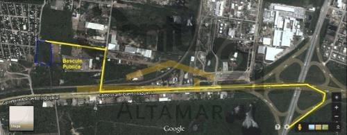 terreno industrial en venta, ejido villa esteros, altamira, tamps.