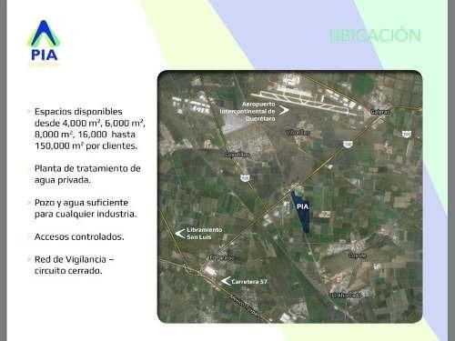 terreno industrial en venta parque industrial aeropuerto
