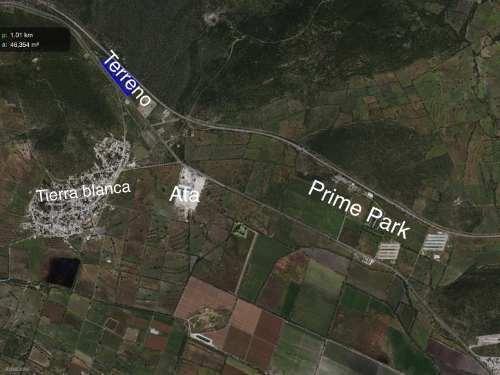 terreno industrial en venta tierra blanca