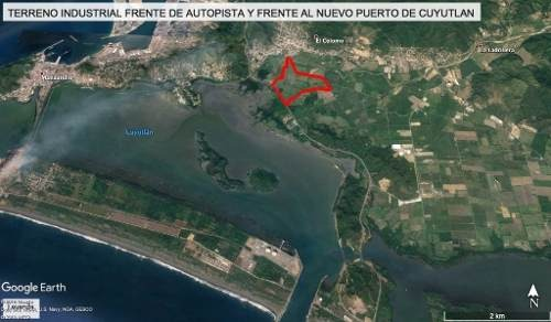 terreno industrial espectacular en manzanillo