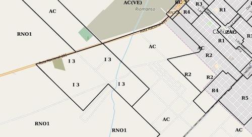 terreno industrial i3 - cañuelas
