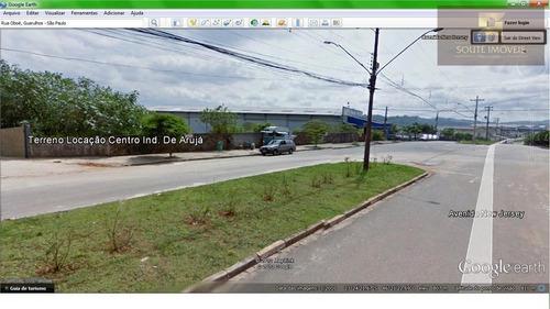 terreno industrial para locação, centro industrial, arujá. - codigo: te0192 - te0192