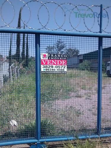 terreno industrial para venda e locação, vale verde, valinhos. - te0213