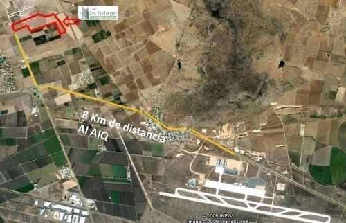 terreno industrial por el aeropuerto a partir de 1 ha