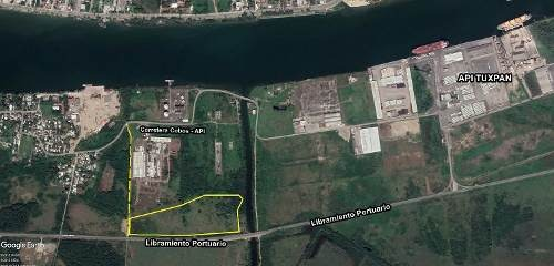 terreno industrial tuxpan