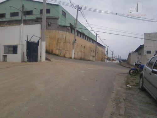 terreno  industrial à venda, chácara do solar i (fazendinha), santana de parnaíba. - te0005