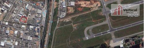 terreno industrial à venda, cumbica, guarulhos - te0262. - te0262