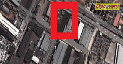 terreno  industrial à venda, parque santo agostinho, guarulhos. - te0105