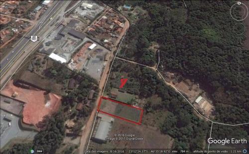 terreno industrial à venda, portão, atibaia. - te0553