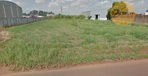 terreno industrial à venda, santa terezinha, paulínia - te0316. - te0316