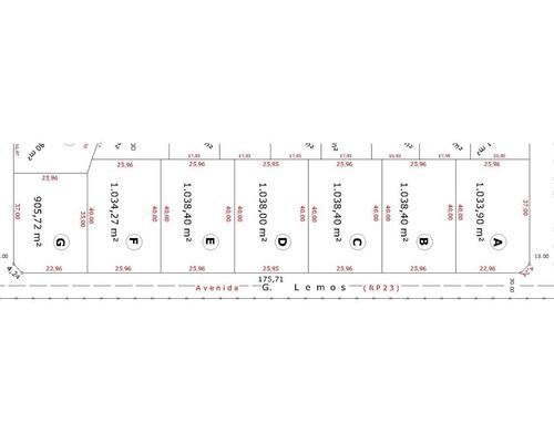 terreno - ingeniero adolfo sourdeaux