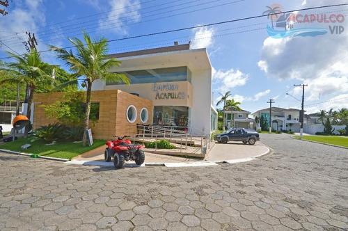 terreno jardim acapulco - frente praça 525 metros quadrdos - te0012