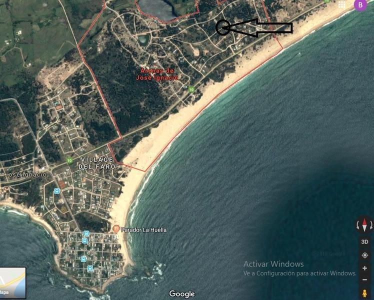 terreno - jose ignacio. a 2 cuadras del mar. 1149 m2