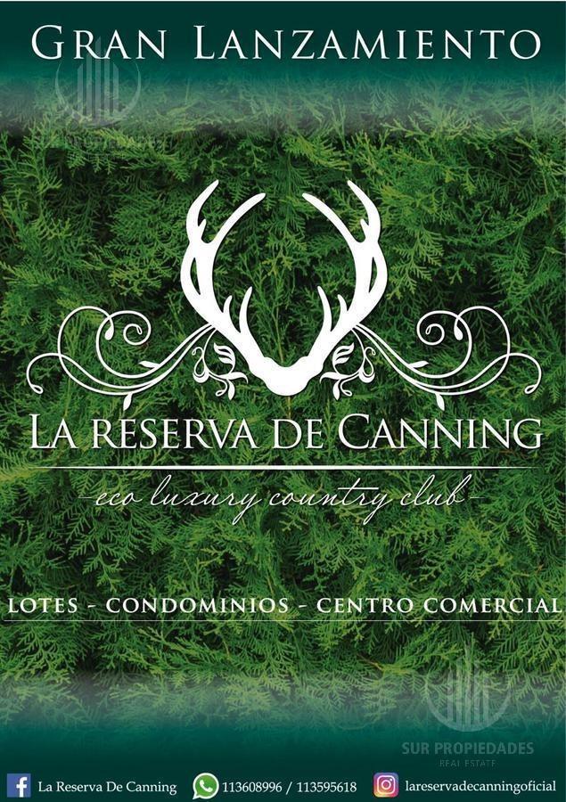 terreno - la reserva de canning