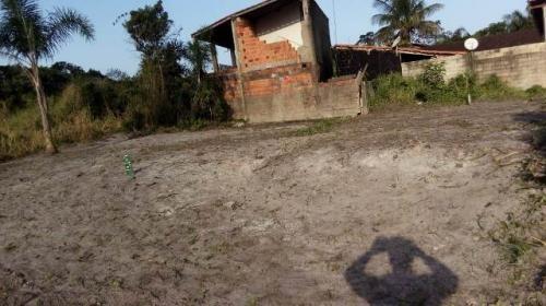 terreno lado praia, entrada + parcelas, itanhaém! ref 4403-p