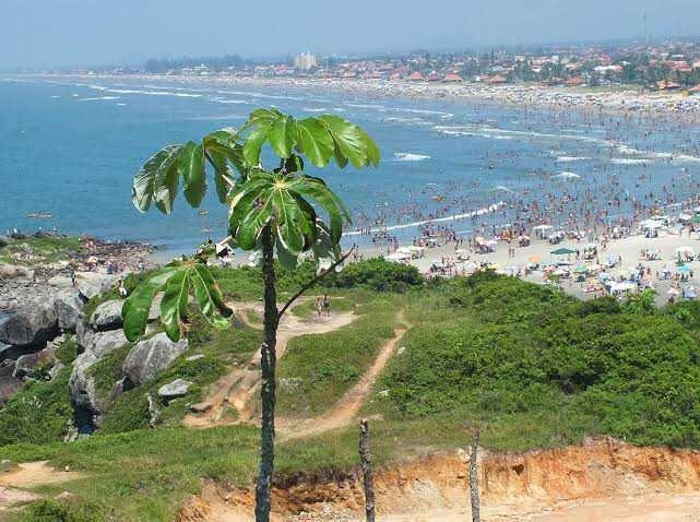 terreno lado praia itanhaém com escritura