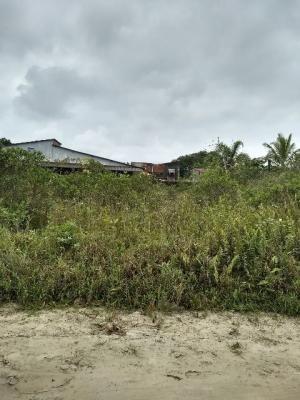 terreno lado praia, no bairro santa cruz, em itanhaém