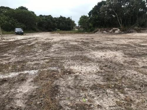 terreno lado praia - rua calçada (analisa parcelar)