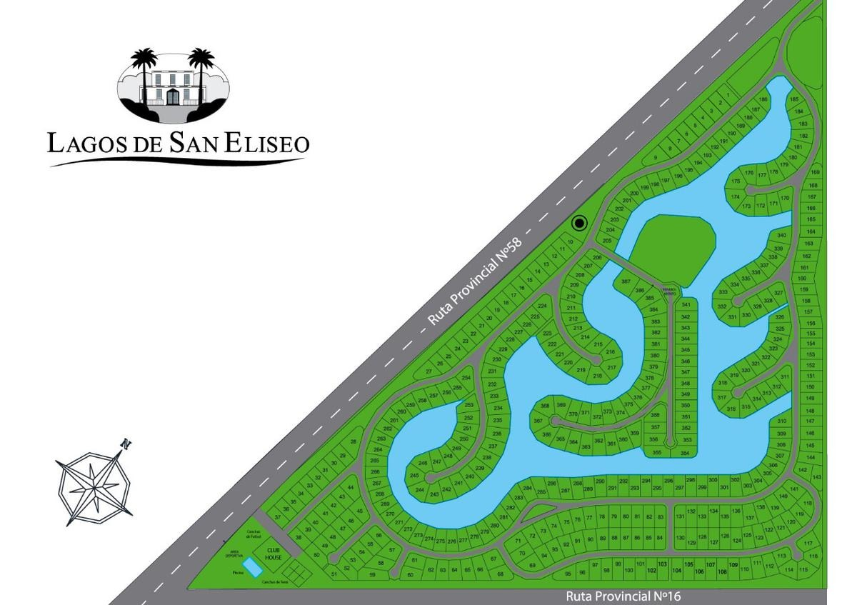 terreno - lagos de san eliseo