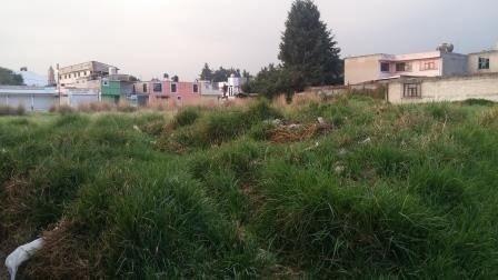 terreno lerma edo. méxico, de forma rectangular 35 m de frente, a 200 m de plaza outlet
