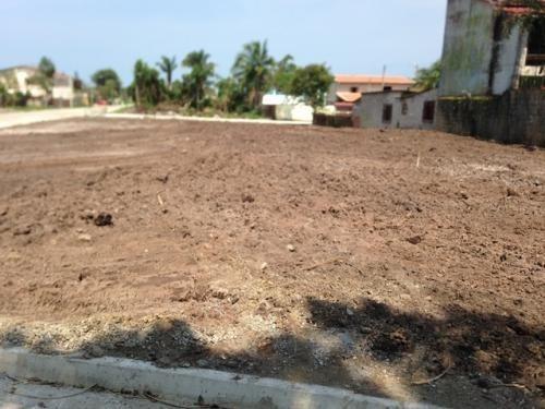 terreno limpo á venda na praia,medindo 260m²,em itanhaém-sp