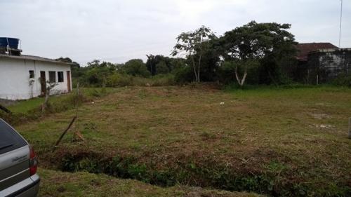 terreno limpo e aterrado em itanhaém jardim das palmeiras