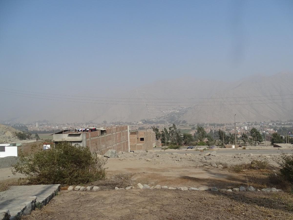terreno / lote · 183 m2 urbanizacion mirasol de huampani