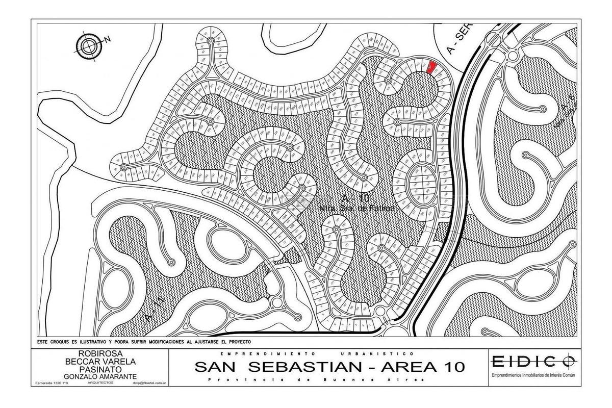 terreno lote  en venta 114 ubicado en san sebastian - area 10, escobar y alrededores