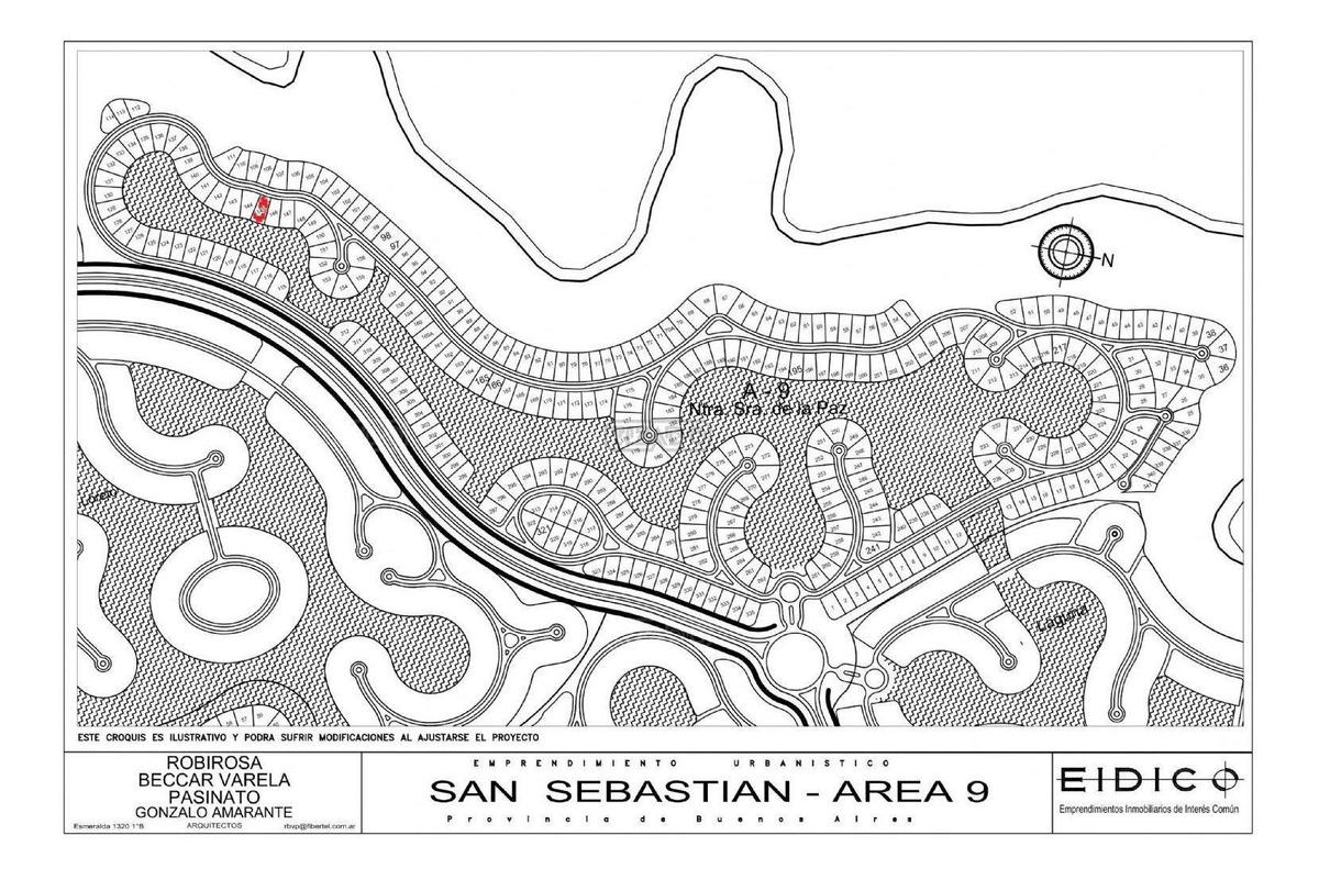 terreno lote  en venta 145 ubicado en san sebastian - area 9, escobar y alrededores
