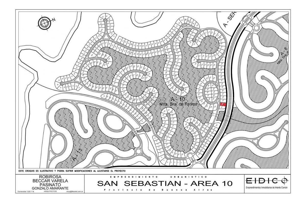 terreno lote  en venta 150 ubicado en san sebastian - area 10, escobar y alrededores