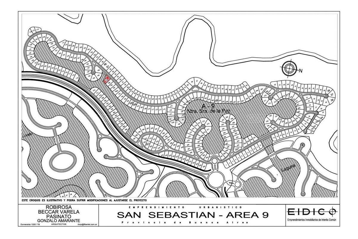 terreno lote  en venta 157 ubicado en san sebastian - area 9, escobar y alrededores