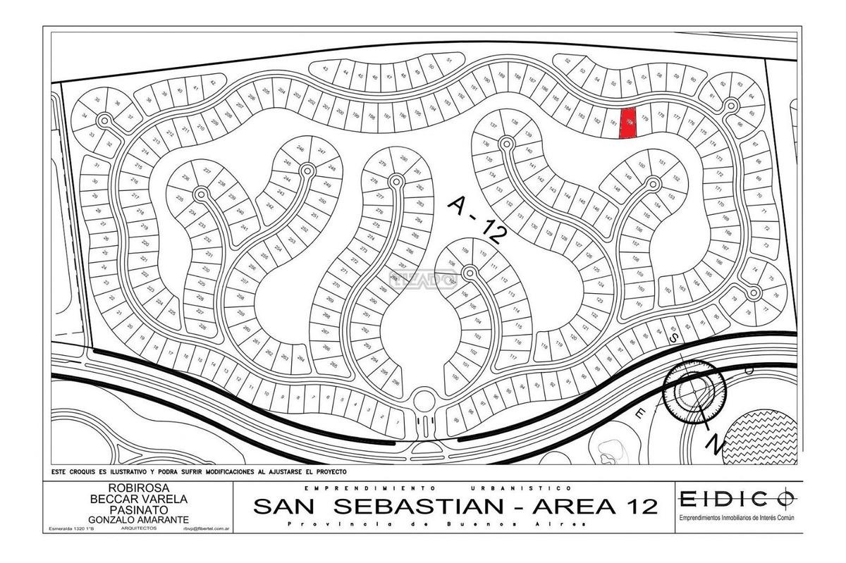 terreno lote  en venta 180 ubicado en san sebastian - area 12, escobar y alrededores