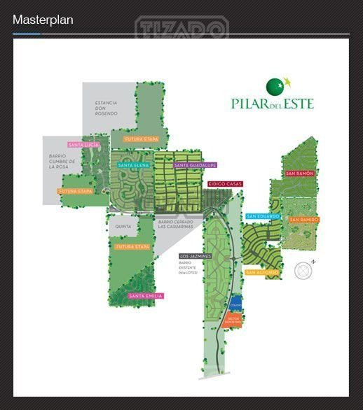 terreno lote  en venta 214 ubicado en santa emilia, pilar del este