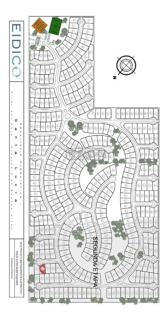 terreno lote  en venta 258 ubicado en santa lucia, pilar del este