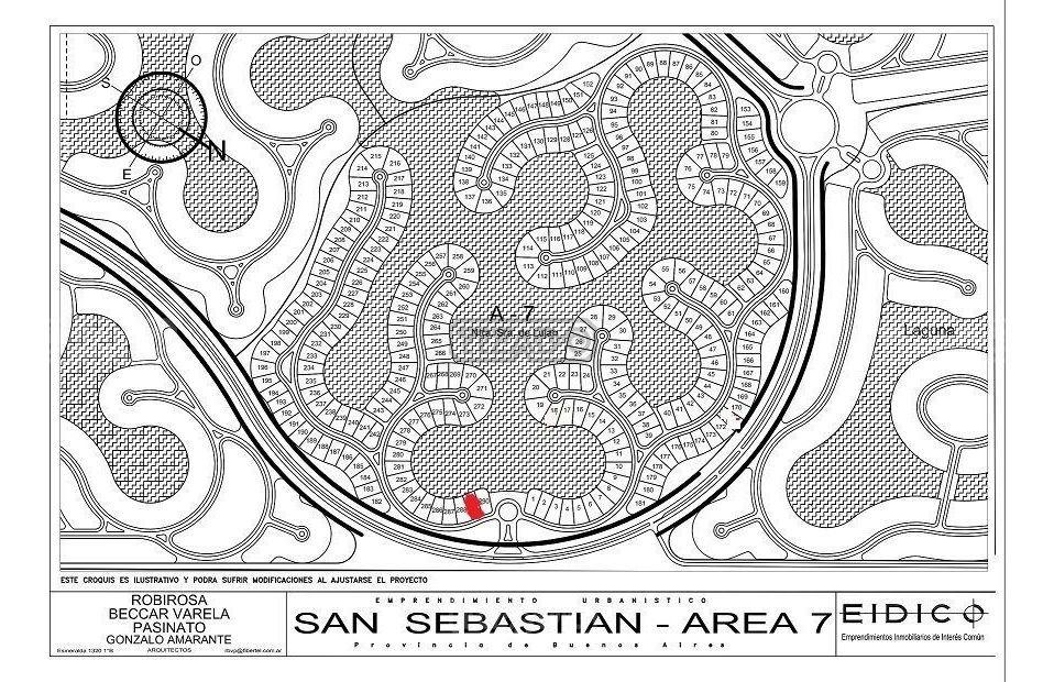 terreno lote  en venta 289 ubicado en san sebastian - area 7, escobar y alrededores