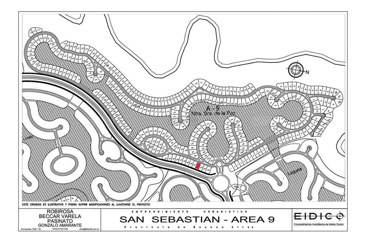 terreno lote  en venta 332 ubicado en san sebastian - area 9, escobar y alrededores
