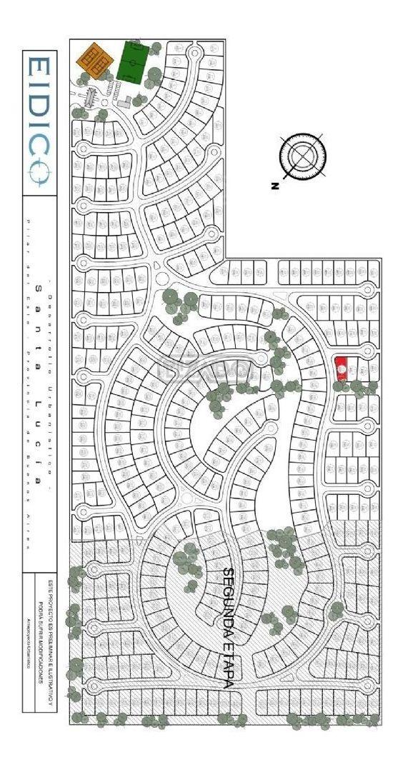 terreno lote  en venta 72 ubicado en santa lucia, pilar del este