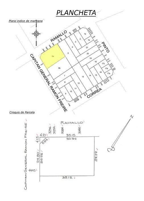 terreno - lote en venta en saavedra